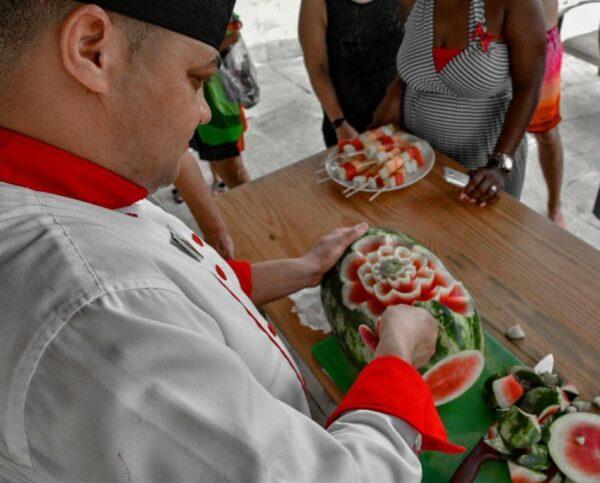 Actividad gastronómica en TRS Turquesa del Grand Palladium de Punta Cana