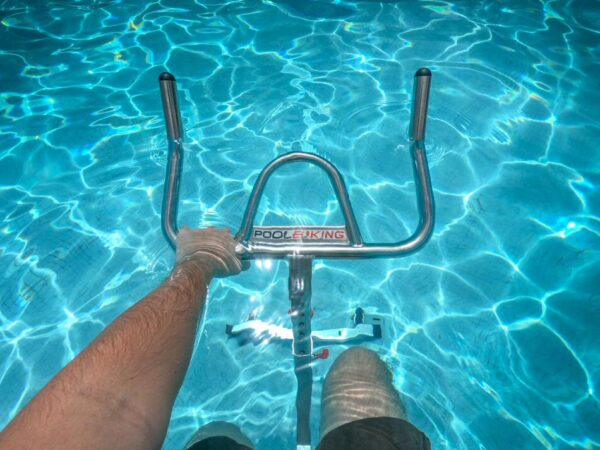 Actividad de bicicleta acuática en Grand Palladium Hotels & Resorts en Punta Cana