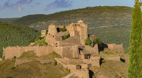 Castillo de Cardona en la provincia de Barcelona