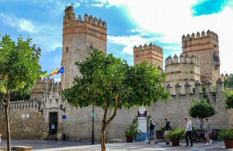 Castillo de San Marcos en El Puerto de Santa María en Cádiz