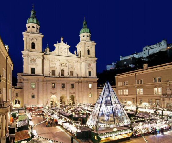 Mercadillo de Navidad en Salzburgo Foto: © SalzburgerLand Tourismus GmbH