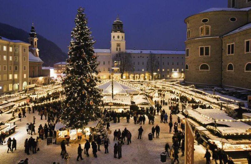 Mercadillo de Navidad en Salzburgo Foto: (c) Österreich Werbung