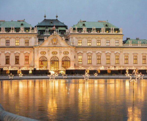 Navidad en castillo Belvedere en Viena Foto: © Österreich Werbung, Harald Eisenberger