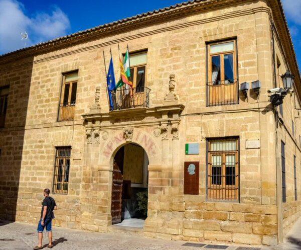 Antigua Universidad en Baeza en Jaén