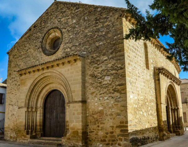 Iglesia de Santa Cruz en Baeza en Jaén