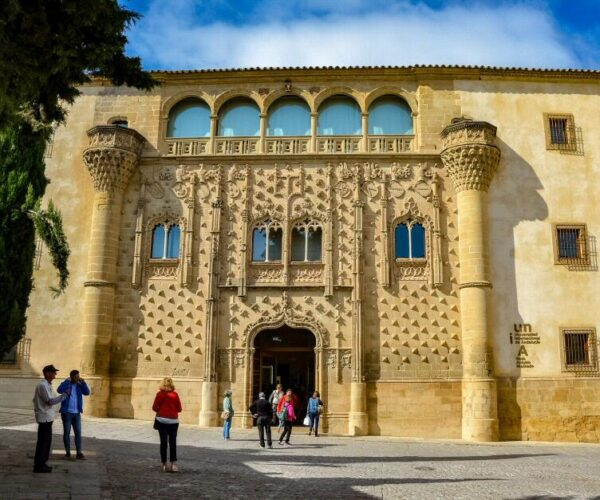 Palacio de Jabalquinto en Baeza en Jaén