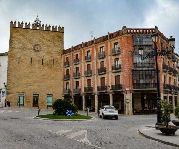 Torre de Aliatares en Baeza en Jaén