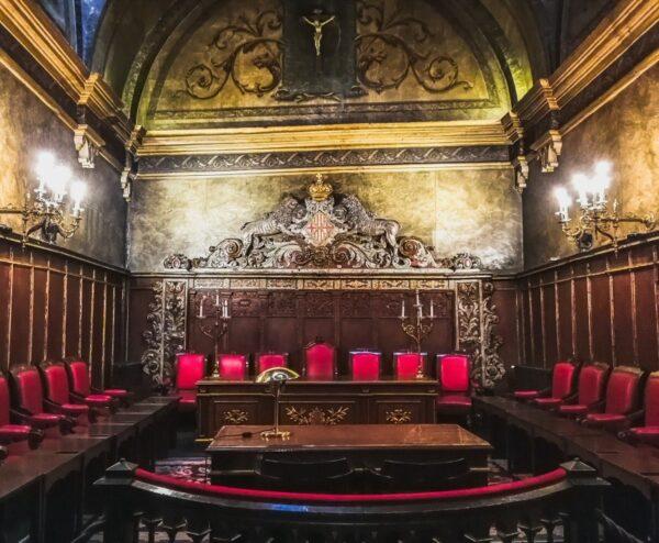 Sala Consistorial en Ayuntamiento de Vic en Barcelona