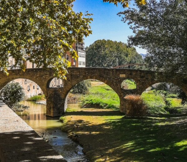 Puente de Queralt en Vic en Barcelona