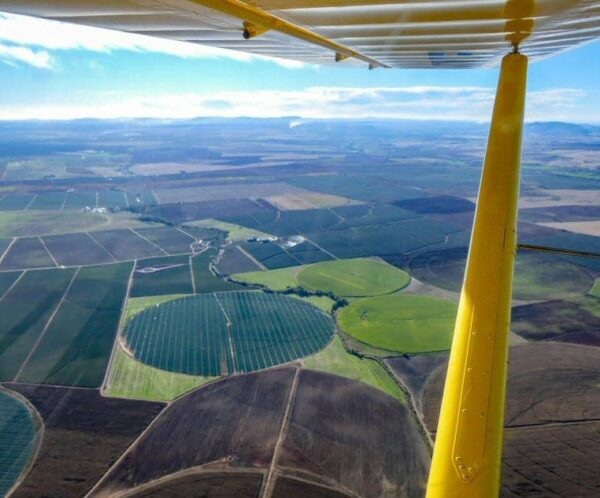 Excursión en avioneta por la región del Lago Alqueva