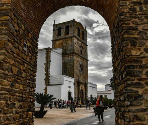 Rincón de Olivenza junto al Lago Alqueva en Extremadura