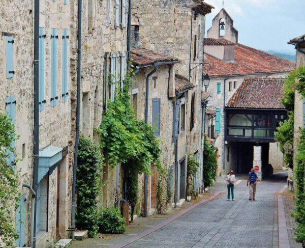 Rincón de Lauzerte en Occitania al sur de Francia