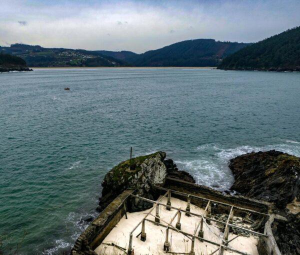 Cetaria medieval en Cedeira cerca de Ferrol