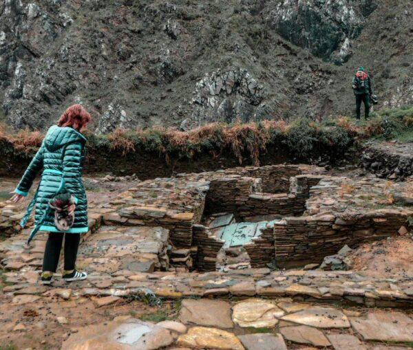 Restos celtas en Cedeira cerca de Ferrol