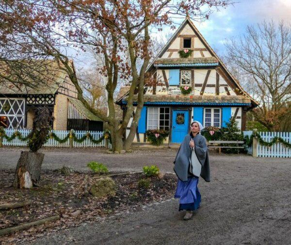 Ecomuseo de Alsacia en Ungesheim cerca de Mulhouse en Francia