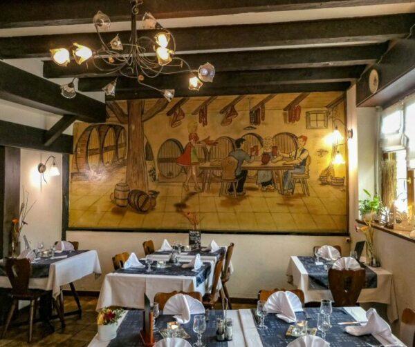Taberna alsaciana Le Cellier en Mulhouse
