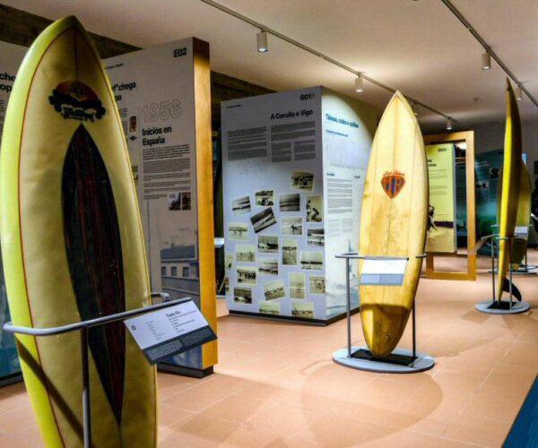 Museo del Surf en Valdoviño cerca de Ferrol