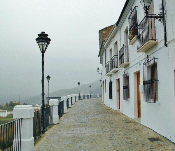 Balcón del Adarbe en Priego de Córdoba en Andalucía