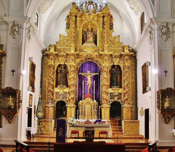 Iglesia de la San Pedro en Priego de Córdoba en Andalucía