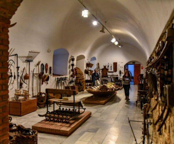 Museo Etnográfico de Olivenza en la provincia de Badajoz