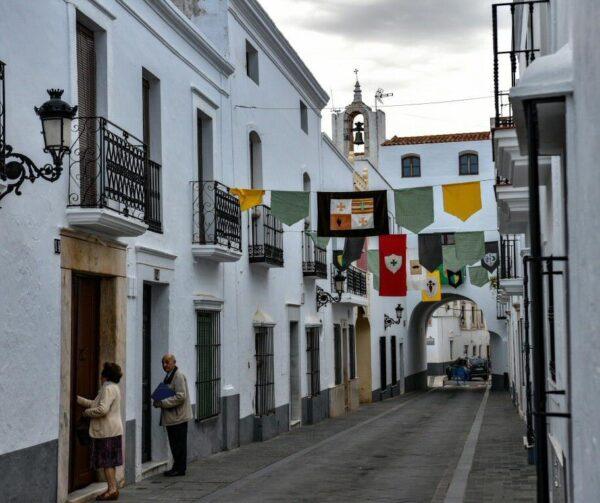 Olivenza en la provincia de Badajoz en Extremadura