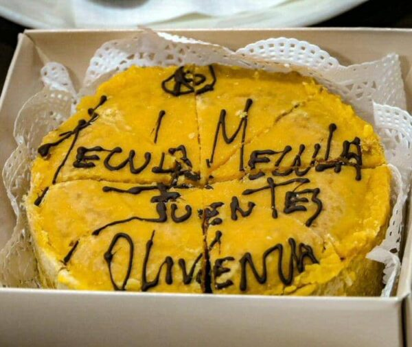 Tecula Mecula, dulce típico de Olivenza en Extremadura