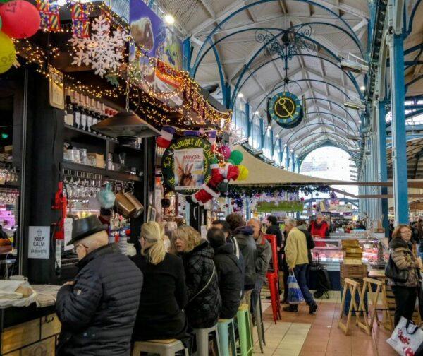 Mercado Les Halles de Dijon
