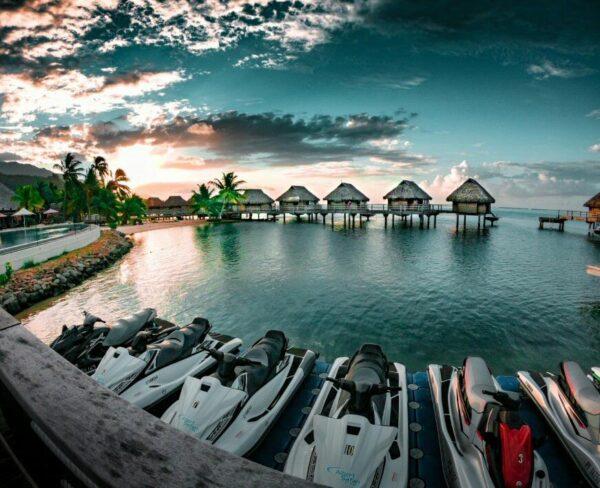 Resort en Moorea en Polinesia Francesa