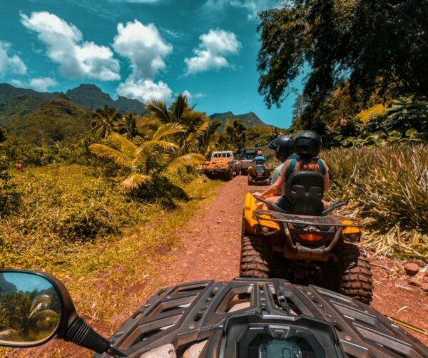 Excursión en Moorea en Polinesia Francesa