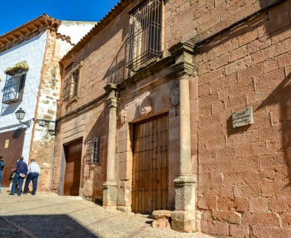 Casa Palacio de los Molina de la Cerda en Baños de la Encina