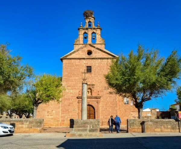 Ermita del Cristo del Llano en Baños de la Encina en Jaén