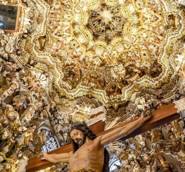 Camarín de la Ermita del Cristo del Llano en Baños de la Encina