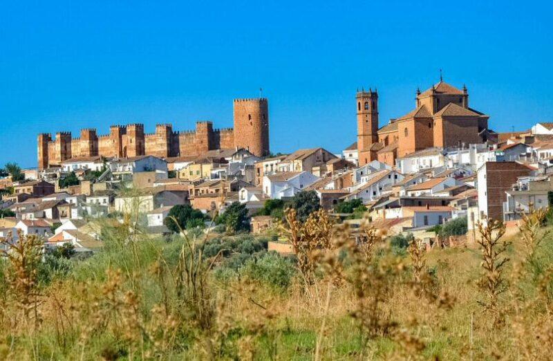Baños de la Encina en la provincia de Jaén en Andalucía