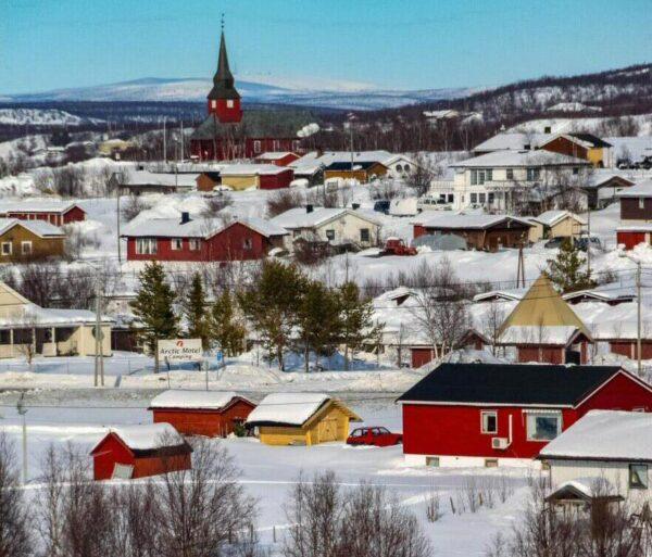 Kautokeino al norte de Noruega