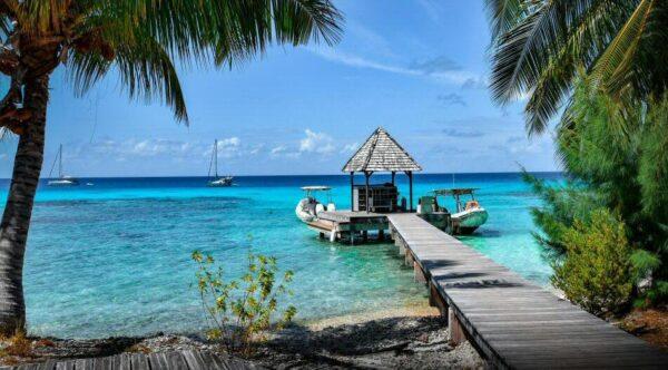 Isla de Rangiroa en Polinesia Francesa