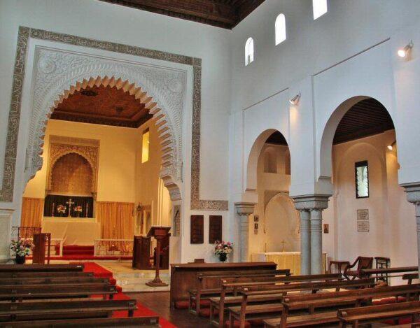 Iglesia anglicana de St Andrews en Tánger al norte de Marruecos