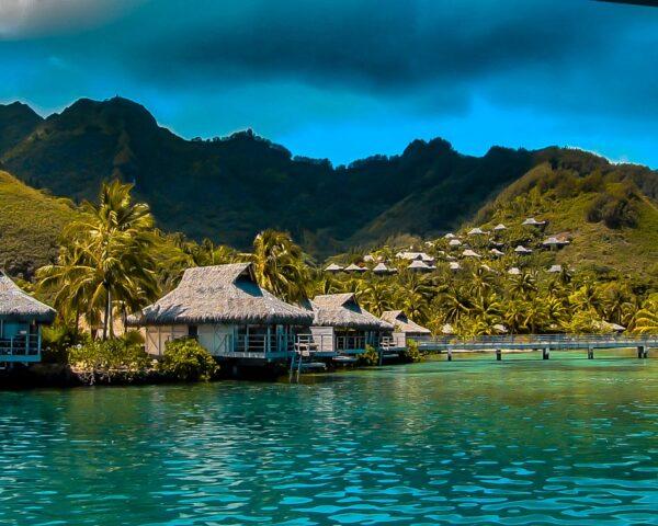 Moorea en Polinesia Francesa