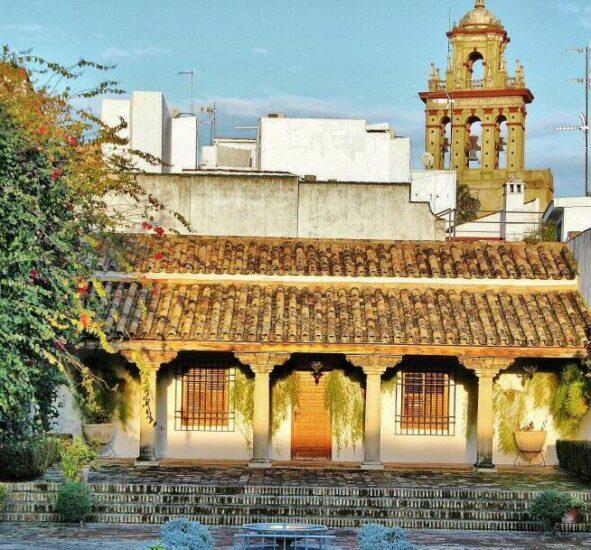 Patio de las Columnas en el Palacio de Viana en Córdoba