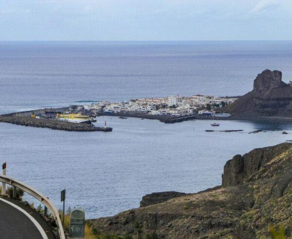 Puerto de las Nieves de Agaete en Gran Canaria