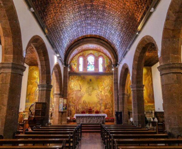 Iglesia de San Matías en Artenara en Gran Canaria