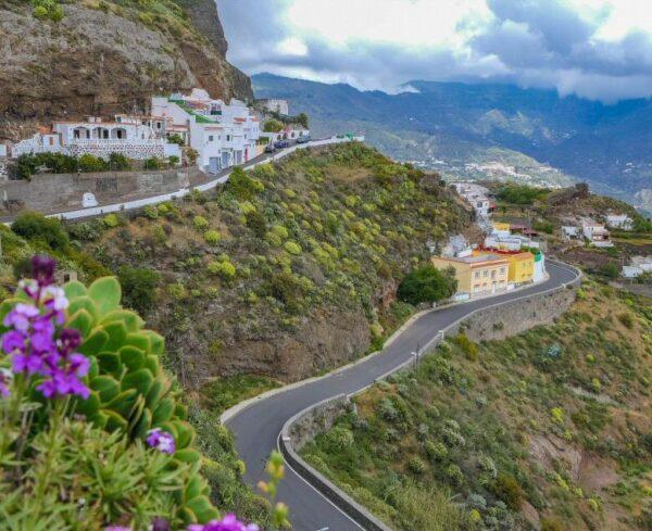 Paisajes de Artenara en Gran Canaria