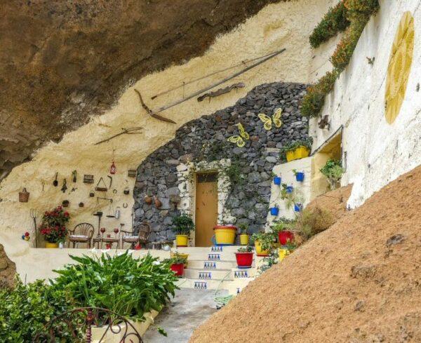 Casa cueva en Artenara en Gran Canaria