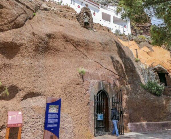 Capilla de la Virgen de la Cuevita en Artenara en Gran Canaria