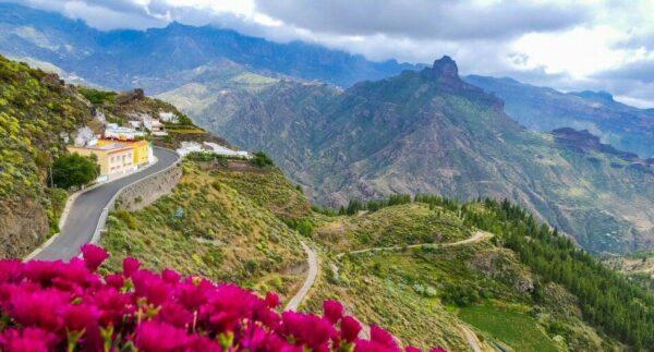 Paisaje del interior de la isla de Gran Canaria desde Artenara