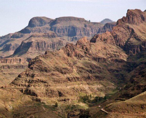 Vistas desde el Mirador de Yeguas en Gran Canaria