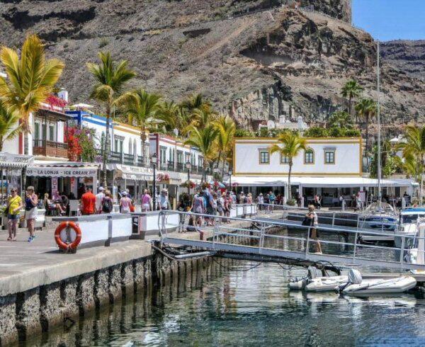 Puerto de Mogán en Gran Canaria