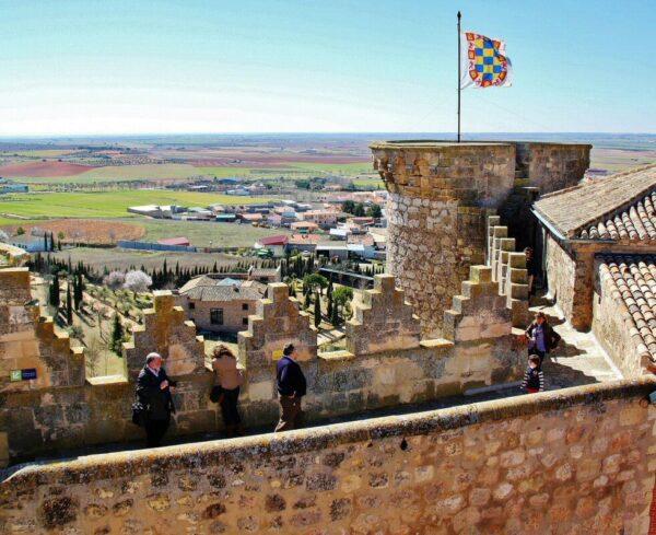 Castillo de Belmonte en provincia de Cuenca