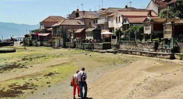 Combarro en Pontevedra en Galicia