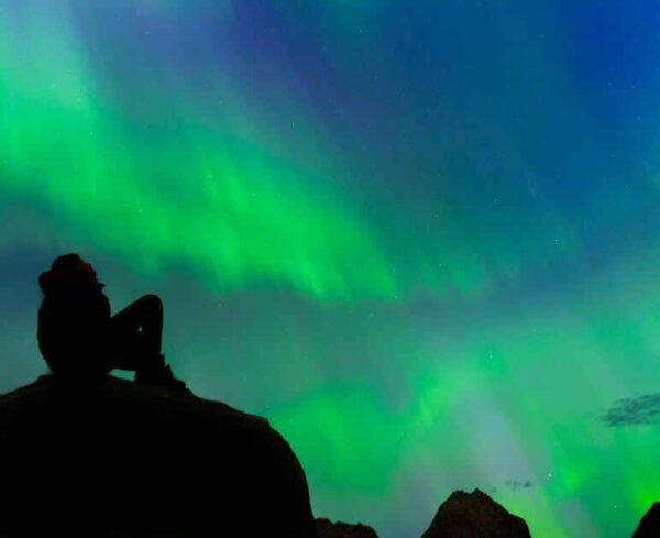 Auroras boreales en Groenlandia @Foto: Alexandre Eggermont
