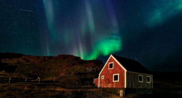 Auroras boreales en Groenlandia @Foto: Javier Alippi